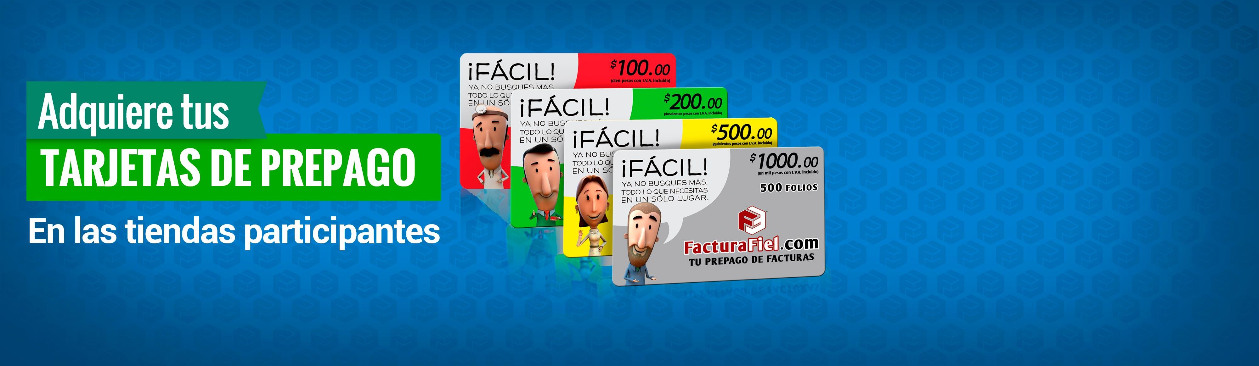 FacturaFiel | Tu Prepago de Facturas